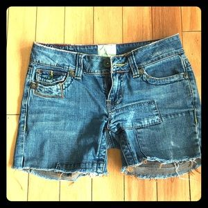 Marlow Jeans Vintage Original Distressed Shorts